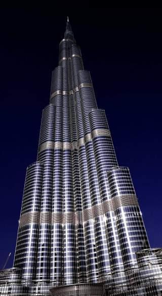 Spojené arabské emiráty Burj Khalifa