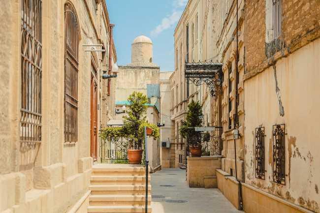 Ázerbájdžán ulice