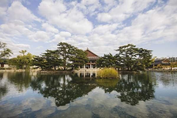 Jezero v Jižní Koreji