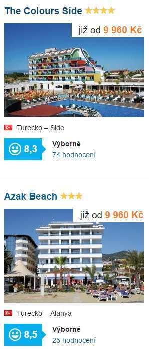 Letecky z Ostravy do Turecka
