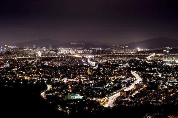 Noční Pchjongjang