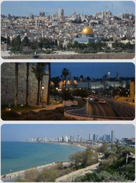 Výhledy na Tel Aviv