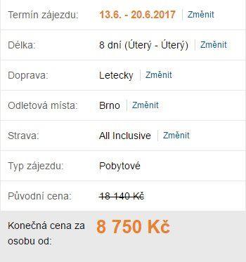 červnový termín Bulharsko All Inclusive