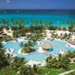 Dominikánská republika – bazén moře písek