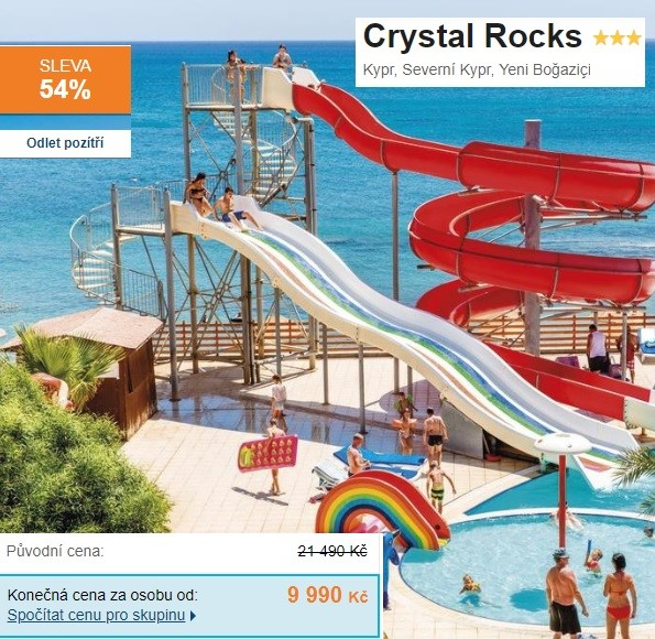 Kypr dovolená s aquaparkem