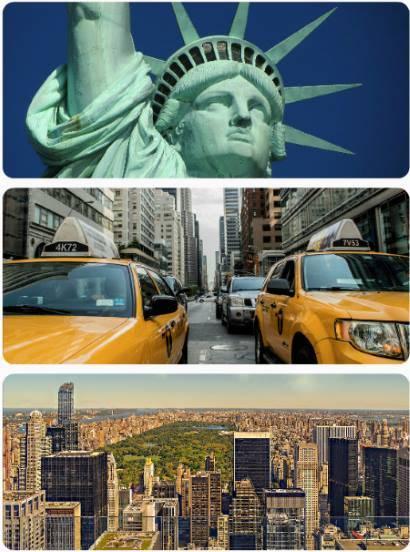 Letenky z Prahy do New Yorku USA