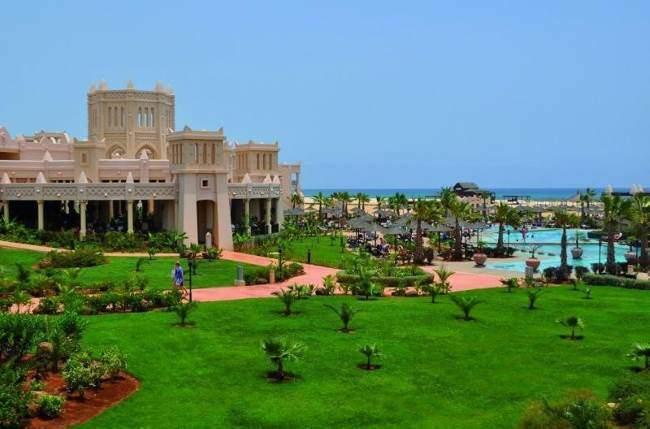 Riu Touareg Kapverdy hotel zahrada