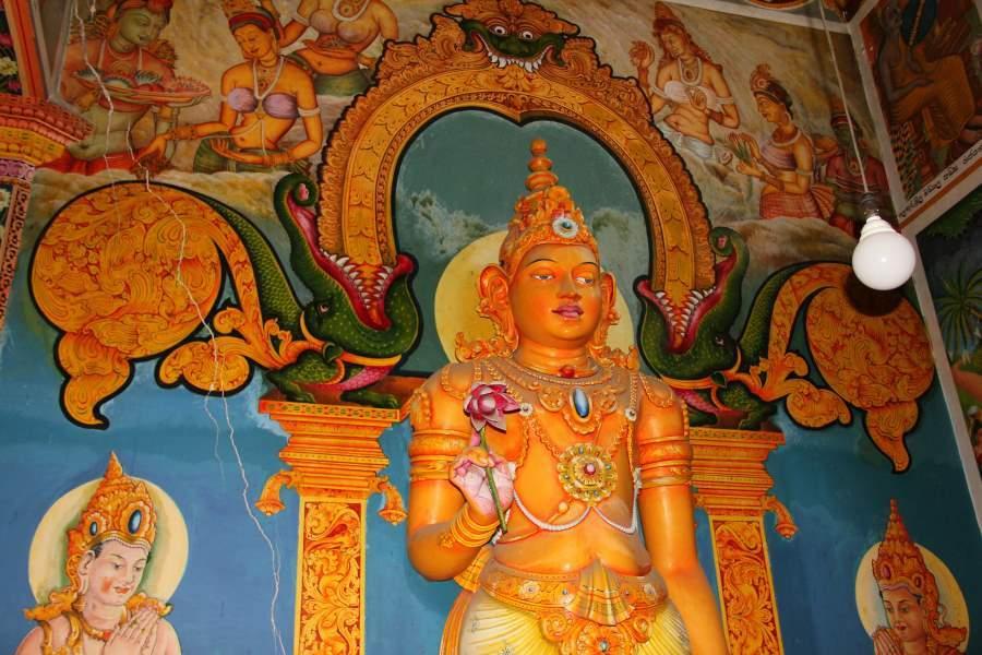 Buddhismus je na Sri Lance