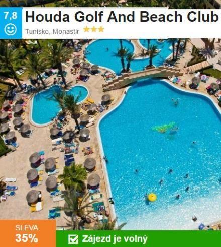 Golfový zájezd Tunisko aquapark
