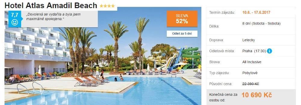 Hotel Atlas Amadil Beach v Maroku
