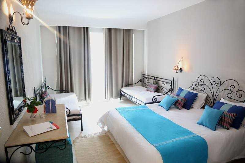 Parádní hotelový pokoj