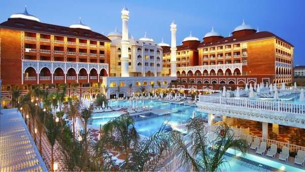 Hotel luxusní budovy