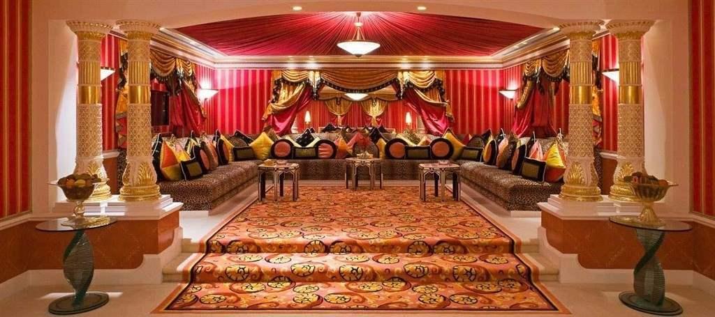 Hotelový pokoj Burj Al Arab Dubaj