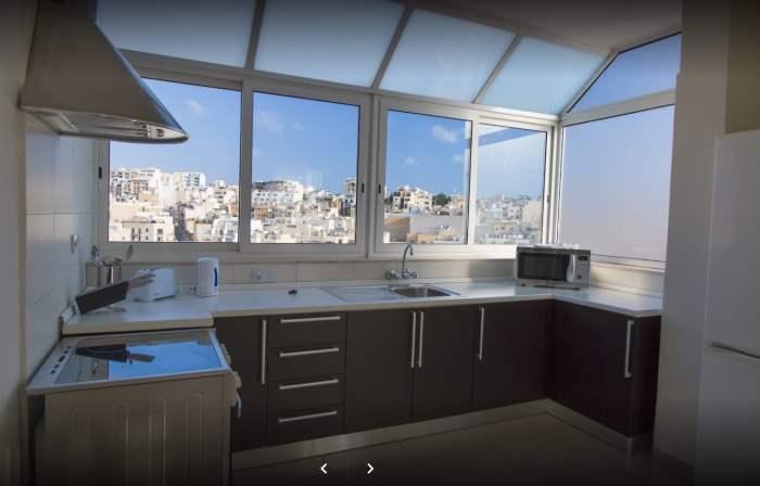 Pokoje v hotelu Blubay Apartments na Maltě