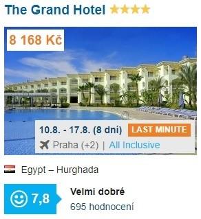 Egypt Hurghada All Inclusive dovolená