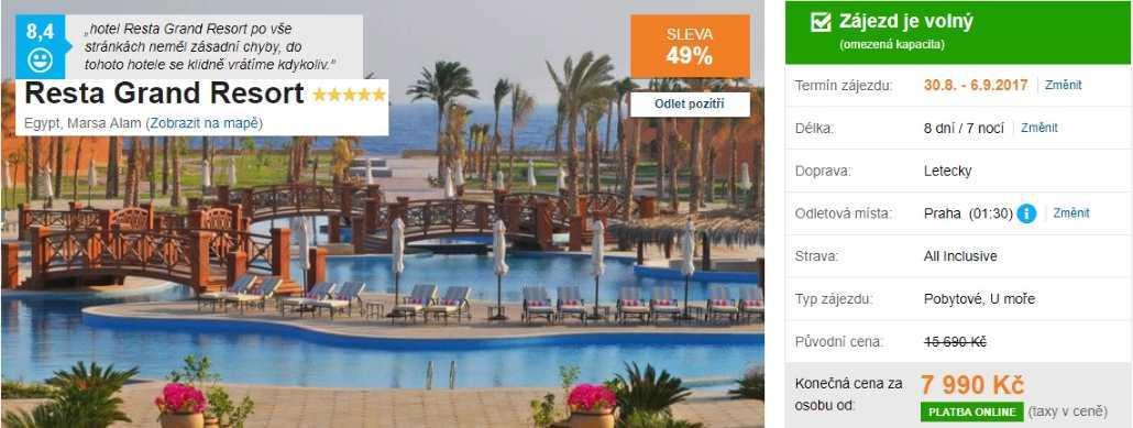 Egypt dovolená marsa alam