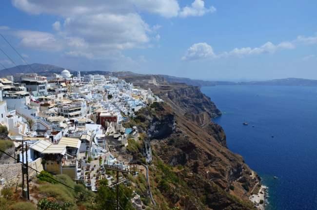 Hlavni město Santorini – Fira
