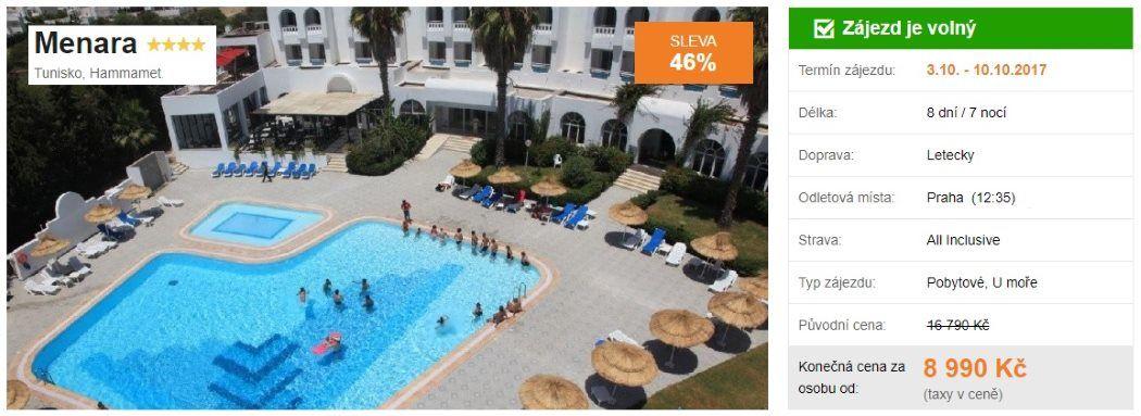 Tunisko All Inclusive dovolená