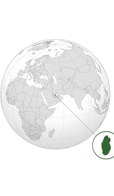 Kde leží aneb poloha Qataru