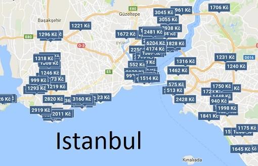 Levné ubytování Istanbul