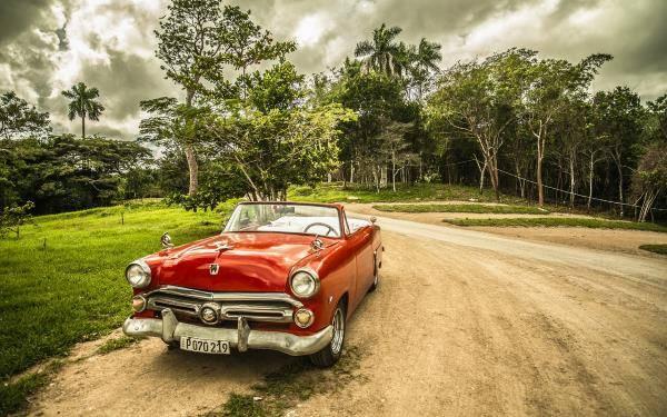 Půjčení auta na Kubě