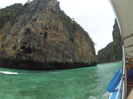 Phi Phi ostrůvek Thajsko