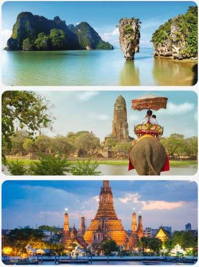 Thajsko cestopis
