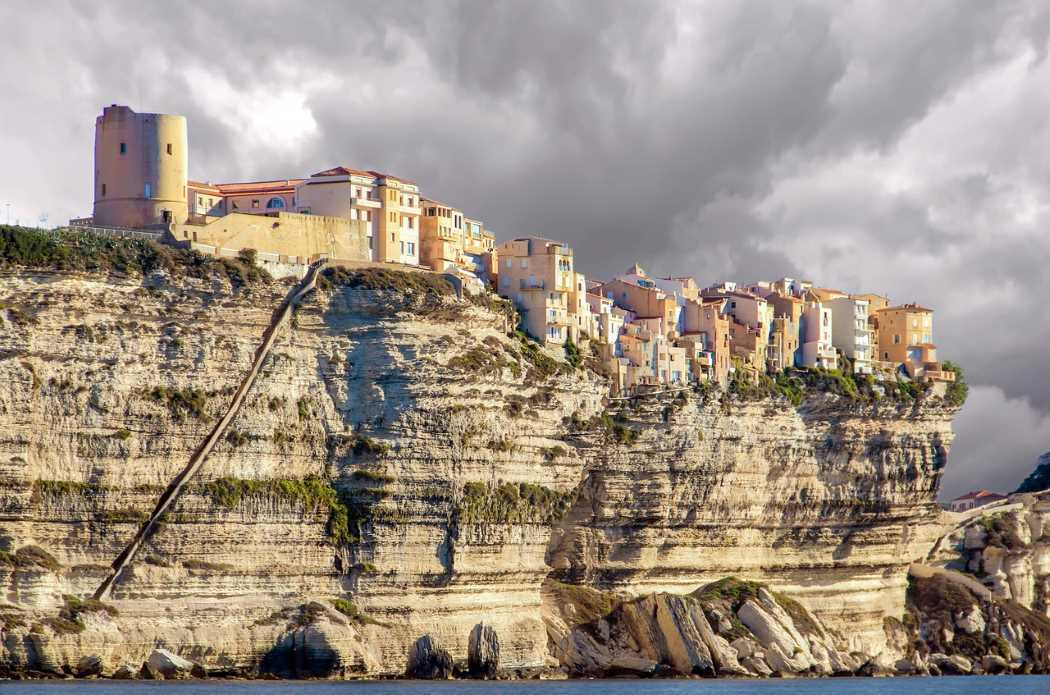 Bonifacio na Korsice