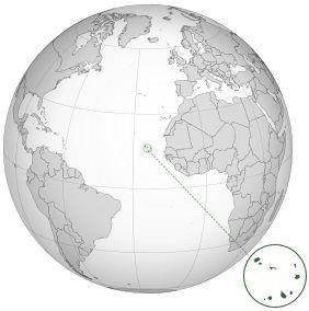 Kapverdské ostrovy na Mapě