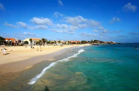 Praia de Santa Maria Kapverdy