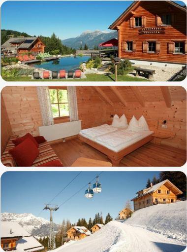 Rakousko lyžování v prosinci dovolená