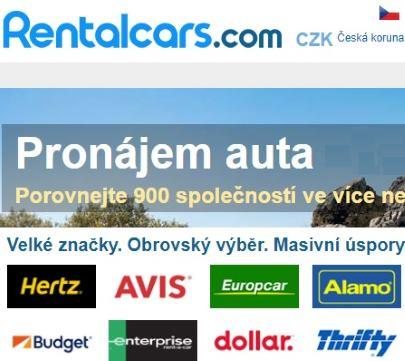 Rentalacars autopůjčovny recenze