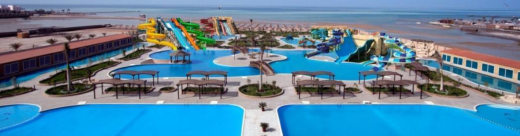 Aqua Park Mirage hotel s tobogánem