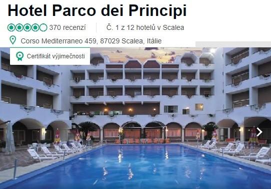 Hotel Parco dei Principi recenze Itálie