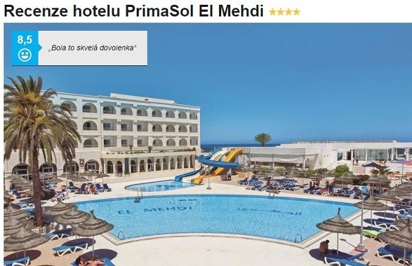 Primasol el Mehdi Tunisko recenze