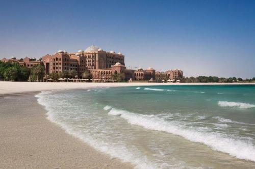 Výhled na moře Abú Dhabí Spojené arabské emiráty
