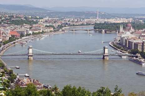 Plavba lodí po Dunaji