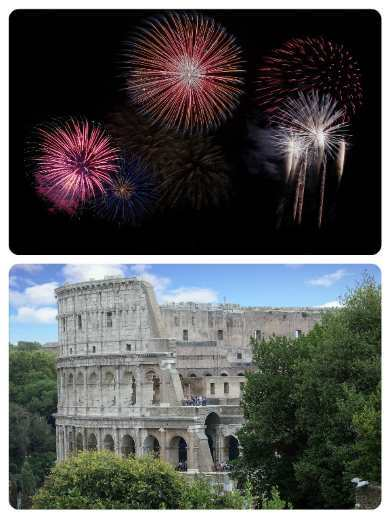 Silvestr v Římě