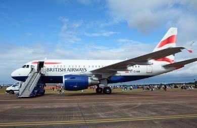 British Airways zpoždění letu