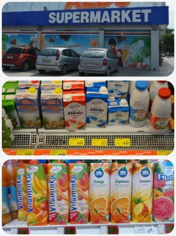 Ceny potravin Bulharsko