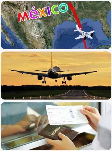 Doba a délka letu do Mexika
