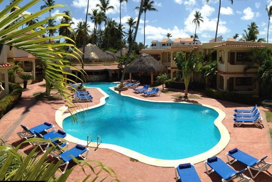 Dovolená v Karibiku bazén