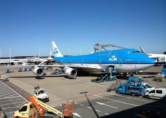 KLM zpoždění letu