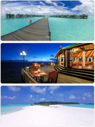 Maledivy luxus