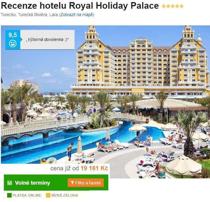 Nejlepší hotel v Turecku
