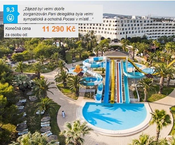 Nejlepší hotely Tunisko