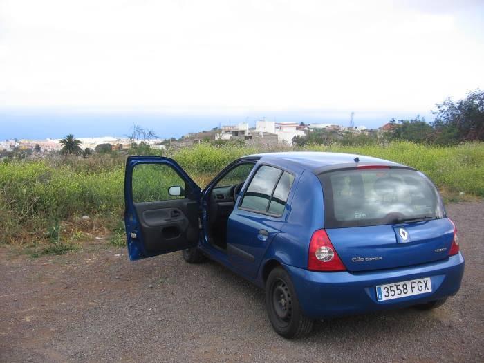Půjčení auta na Kanárských ostrovech Renault Clio