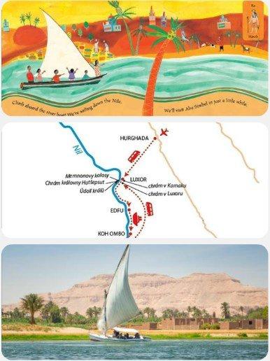 Plavba po Nilu egypt dovolená