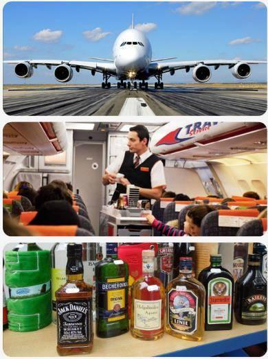 Alkohol do letadla