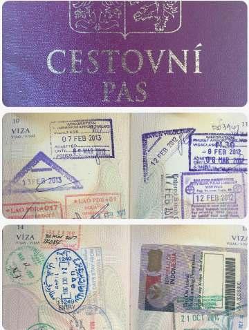 Cestovní pas rychlopas